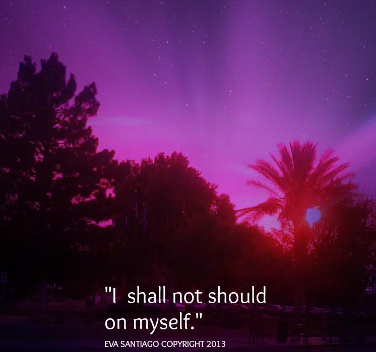 i shall not